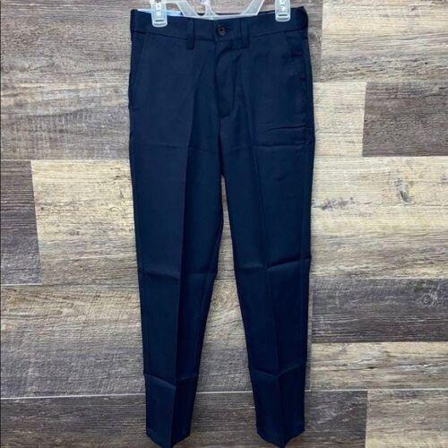 NWT Haggar Boy's 10R Navy Straight Dress Pants