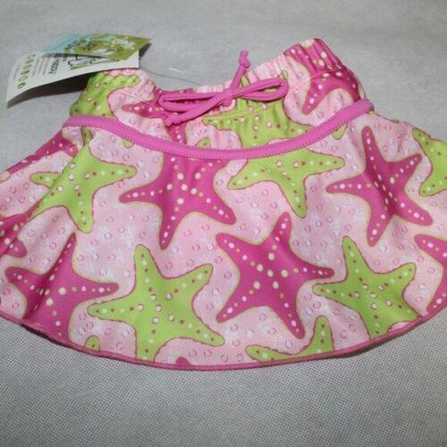 Flap Happy Baby Girls Pink Swim Skirt Size 12M