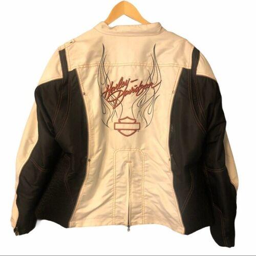 Harley Davidson Motorcycle Heavy Riding Moto Jacket 2X 2W Womens Plus Size