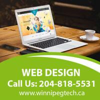 Winnipeg Website Design ⭐️ Web Development ⭐️SEO ⭐️Ecommerce