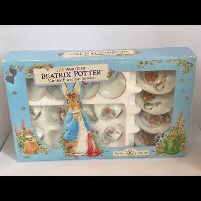 The World of Beatrix Potter Mini Porzellan Tea Set