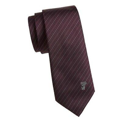 Versace Collection Silk Diagonal Stripe Tie