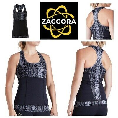 EUC Zaggora Atomica Thermo Ab Slimming / Body Shaping Hot Tank Top XXL MSRP $49