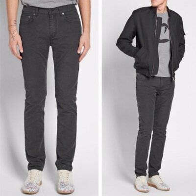 "Acne Studio-Men's Size 31/32 Classic ""Ace ups"" Black Straight Jeans"