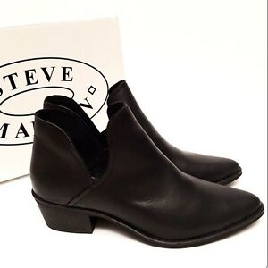 Steve Madden Austin Booties Leather 8