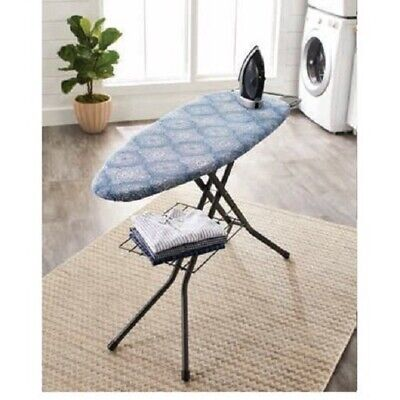 BETTER HOMES & GARDENS REVERSIBLE IRONING BOARD PAD &COVER,POINTILIZED OGEE