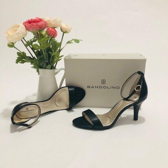 Bandolino Women's Madia Dress Sandals - Black Size: 9.5M