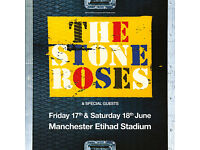 2 X STONE ROSES TICKETS. FRIDAY 17/06. SEATED. £100 FOR BOTH.