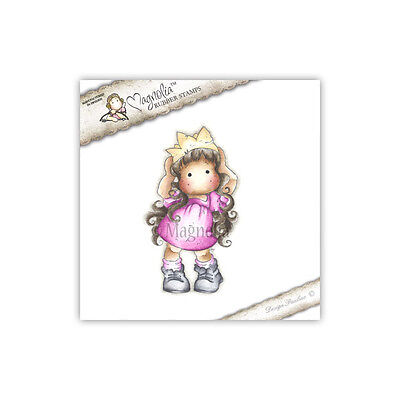 Magnolia Cling Rubber Stamp Princess Tilda Party, NEW