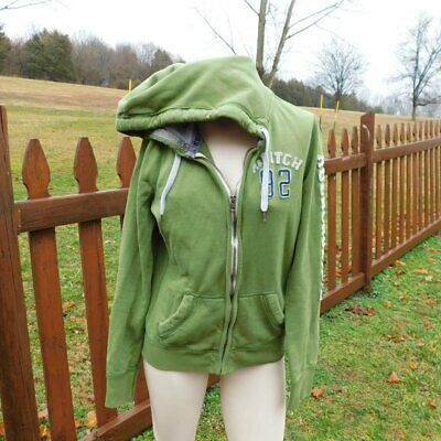 Abercrombie & Fitch Full Zip Jacket Size Large Size Large Womens