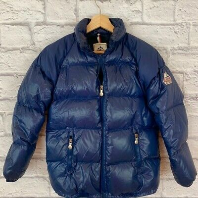Pyrenex Kids Sz 14 Unisex Blue Puffer Down Winter Coat