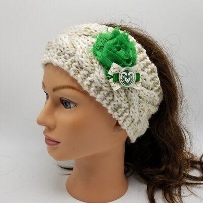 Colorado State University Headband CSU Rams Knit Headband NCAA CSU Rams Clothing Colorado State University Clothing