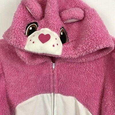 Care Bears Halloween Costume (Care Bears Halloween Costume Size X Small Pink With Hoodie Zipper Long Sleeve)