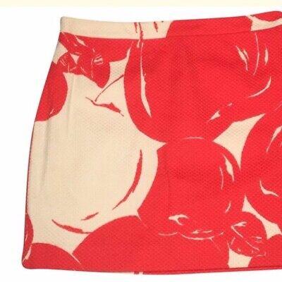 J. Crew. SZ 6. Big Apple Postage Stamp Mini Skirt. Women's Size 6.