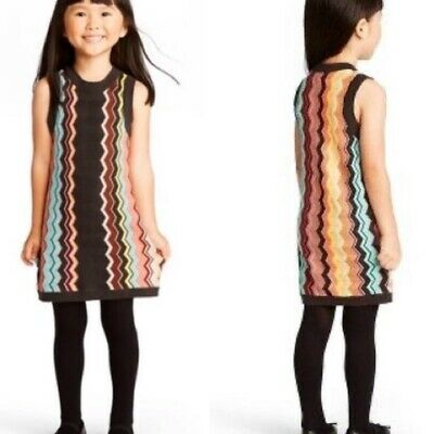 *New* Missoni for Target Toddlers Size 12 months Zig Zag Chevron Sweater Dress!