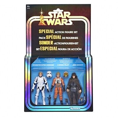 Star Wars The Vintage Collection 3-Pack Luke Destiny SDCC Exclusive