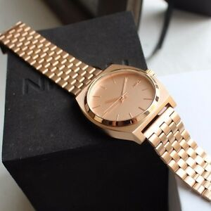 Nixon Time Teller Rose Gold