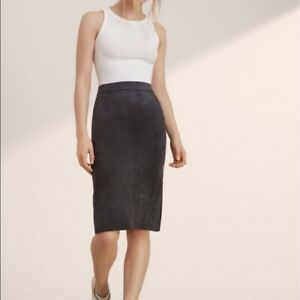 "Wilfred Free ""Lis"" Black Pencil Skirt - Size 8"