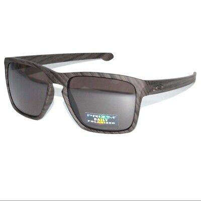 Oakley Sliver XL POLARIZED Sunglasses OO9341-11 Woodgrain W/ PRIZM Daily (Woodgrain Oakley Sunglasses)