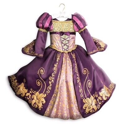Disney Store Tangled Rapunzel Deluxe Designer Collection Costume Gown Dress - Deluxe Rapunzel Kostüm