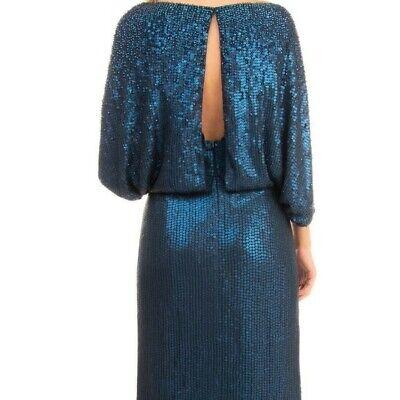 $2600 JENNY PACKHAM Silk Blouson Dress