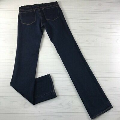 J Brand Womens Cigarette Leg Dark Wash Skinny Jeans Style 914 INK Size -