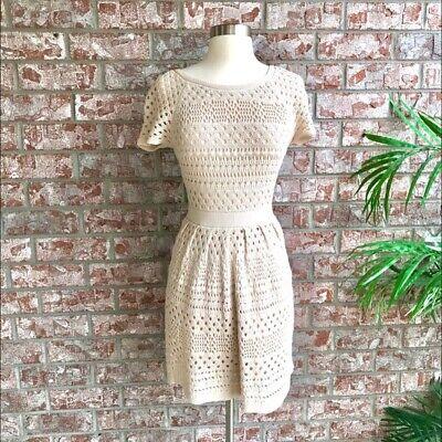 Tibi Crochet Dress. Beautiful And Very Flattering!