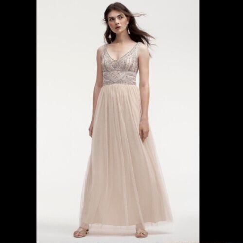 NEW BHLDN OYSTER STERLING DRESS- SIZE 12