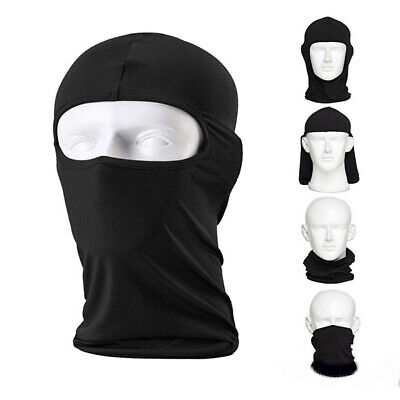 Dedicated 3 Hole Elastic Breathable Windproof Balaclava Bicycle Tactical Army Airsoft Paintball Protection Helmet Liner Full Face Mask Utmost In Convenience Men's Skullies & Beanies Apparel Accessories