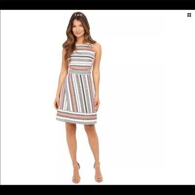 Kate Spade Flights Of Fancy Ribbon Jacquard Dress Size 2, NWT