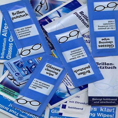 AKTION SONDERPOSTEN 505 FEUCHTE Brillenputztücher 1A-Qualität BRILLENPUTZTUCH