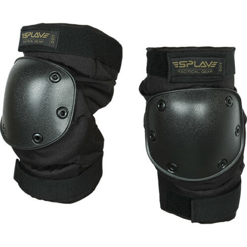 Russian Army Tactical Military Knee Pads DOT Airsoft Black New Brand Splav
