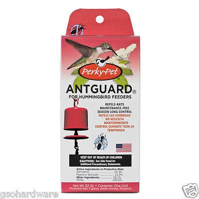 Perky Pet Hummingbird Feeder ANT GUARD  ...