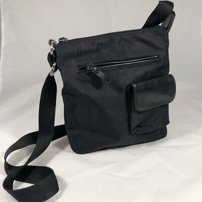 Nine & Co Black Cross Body Shoulder Bag, Purse, Handbag