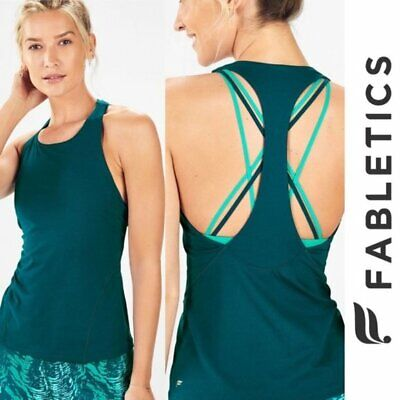 Fabletics Kessler Large Athletic Tank Top with Built-In Bra, NWT