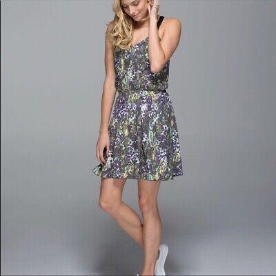 LULULEMON City Summer Dress Size 4 NEW