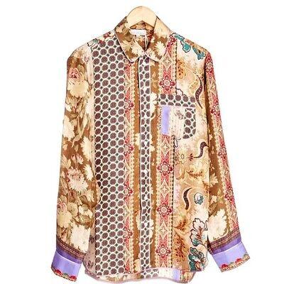 Pierre Louis Mascia Silk Shirt