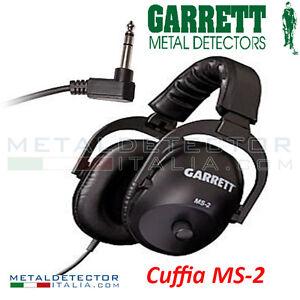 CUFFIE-GARRETT-MS-2-ACCESSORI-METALDETECTOR-CERCA-METALLI-BUCHE-METEORITI-FREGI