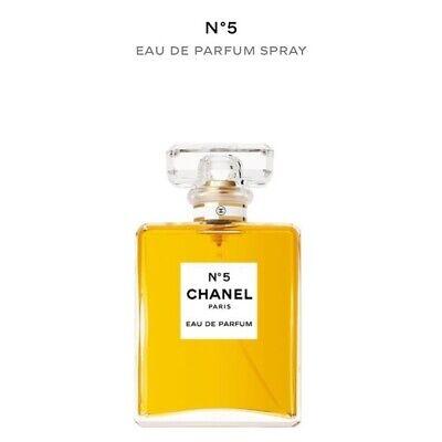 Chanel No 5 #5 - 3.4 oz 100 ml Womens Eau de Parfum Perfume Spray NIB SIB EDP