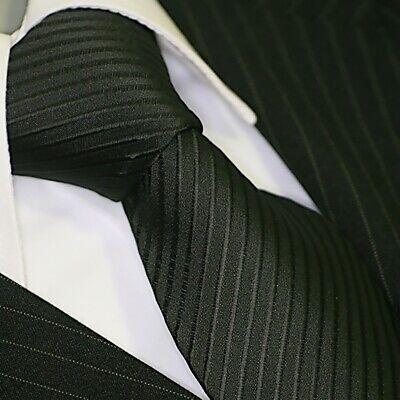 Krawatte Krawatten Schlips Tie corbata cravate Binder de Luxe 547 schwarz Tie Krawatte Krawatten