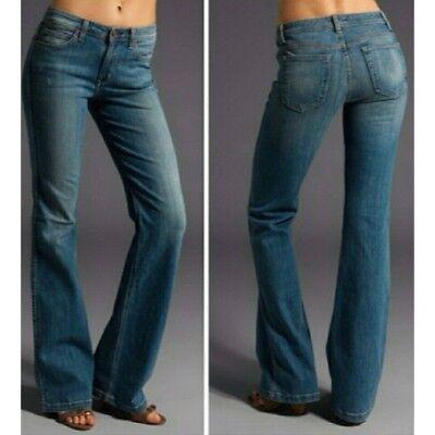Skinny Wide Leg Jeans (RICH & SKINNY OUTBACK JEANS FLARE WIDE LEG BOHO HIPPIE FESTIVAL SIZE 28)