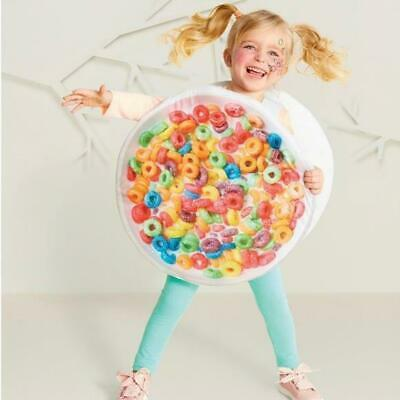 Hyde & Eek Toddler Cereal Bowl Costume Dress Up Halloween Party New One Size - Toddler Halloween Costumes