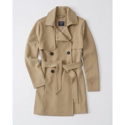Abercrombie & Fitch Drapey Trench Coat NWT $140 - Women's Size L