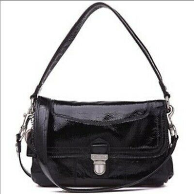 Coach Poppy Black Patent Leather Purse
