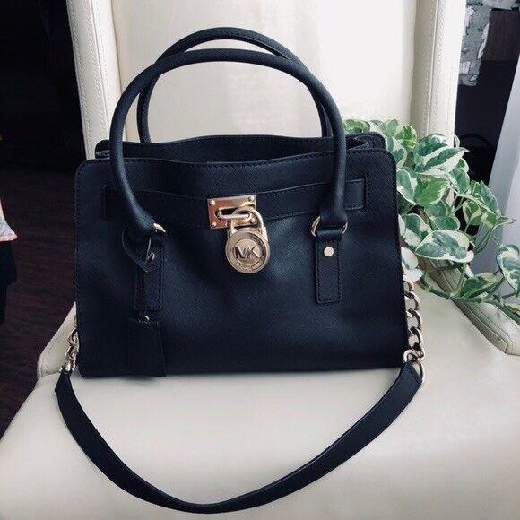 Michael Kors Hamilton Satchel handbag  fee5ea93baf22