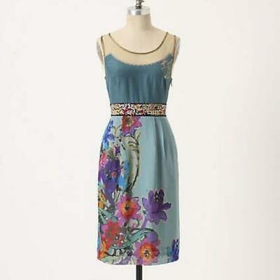 Floreat Anthropologie Manor Gates Dress Size 8