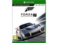 Forza motorsport 7 Xbox one brand new wrapped