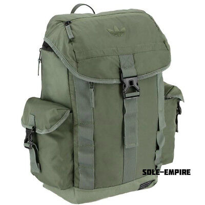 Adidas Originals Urban Utility Backpack Army Green Olive New With Tags Back Pack