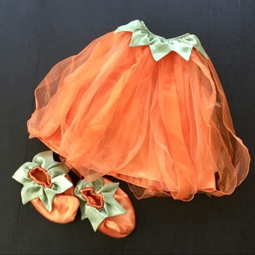 GYMBOREE Tulle Orange Pumpkin Fairy Costume - Size 2T - 3T