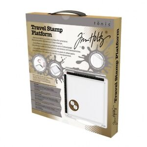 Tim Holtz - Travel Stamp Platform -Tonic Press For Clear & Rubber stamps - 1711e